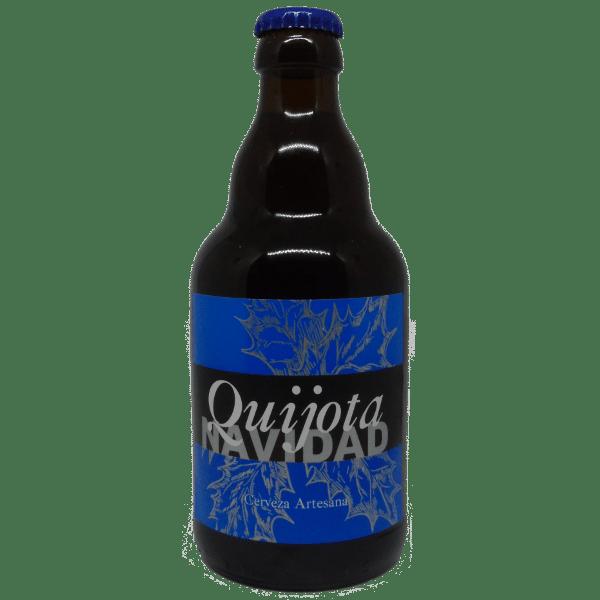Botella de Quijota Navidad