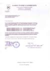 Certificado / Certificate / Certificat Kosher 2017